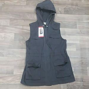 Women's Cargo Hooded Vest